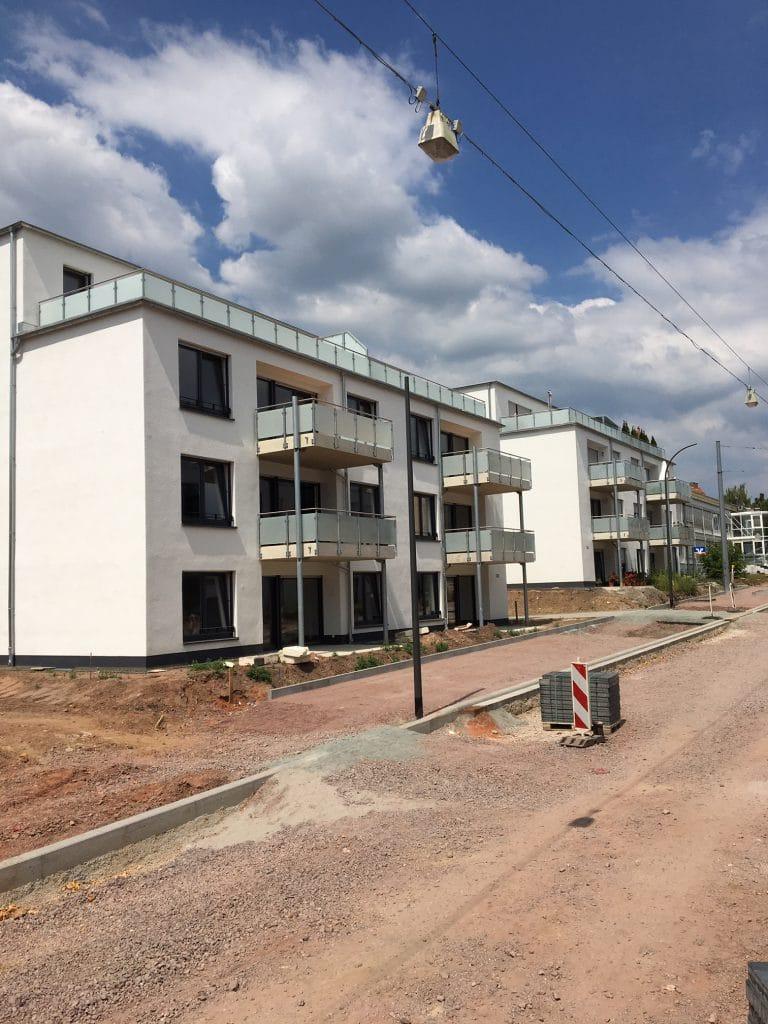 BV Neubau 2 MFH Winzler Stra·e Pirmasens 2 x 650 qm WDVS